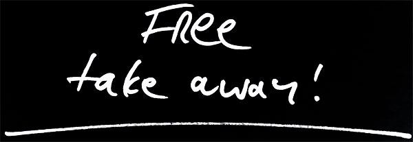 Free Take Away!